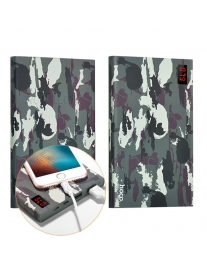 Внешний аккумулятор HOCO B17C Power Bank Skull Camouflage, 20000 mAh